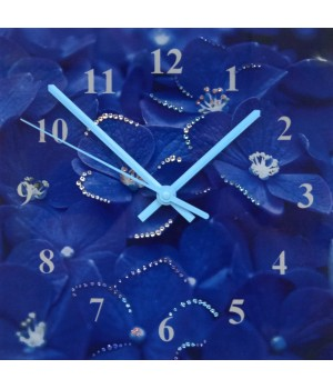 """Часы """"Гортензия"""" Swarovski"""