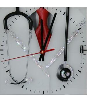 "Часы ""Доктор"" Swarovski"