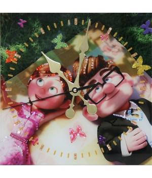 "Часы ""Бабочки в животе"" Swarovski"