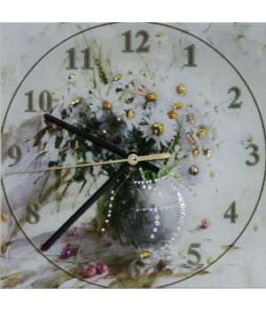 "Часы ""Букет ромашек"" Swarovski"
