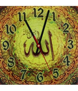 "Часы ""Аллах"" солнечный Swarovski"
