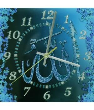 """Часы """"Аллах"""" бирюза Swarovski"""