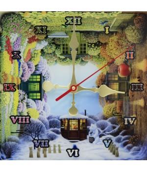 """Часы """"Времена года"""" Swarovski"""