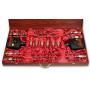 Набор шампуров из Мрамора в коробе со стопками