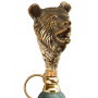 Ложка для обуви Медведь Зеленый Мрамор