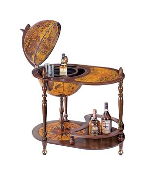 Глобус-бар на 3-х ножках, столик