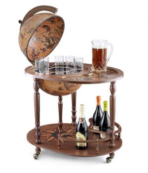 """Глобус-бар напольный со столиком """"Ясон"""""""